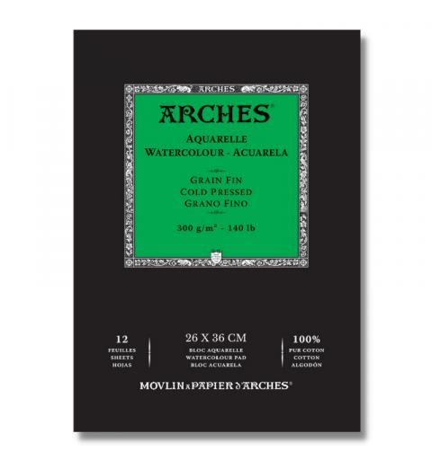 BLOCCO ARCHES AQUARELLE...