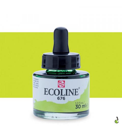 ECOLINE 30ML – GRASS GREEN 676