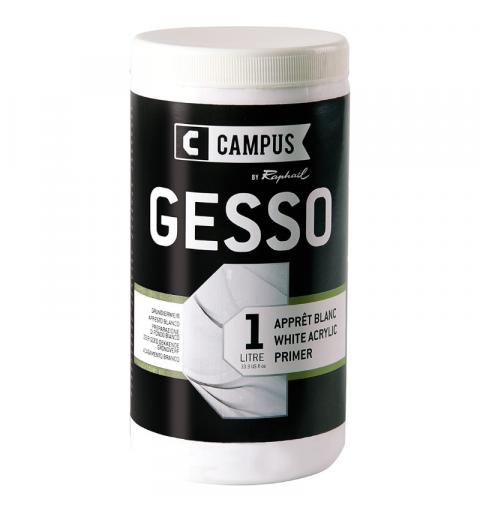 GESSO ACRILICO CAMPUS 1 LITRO