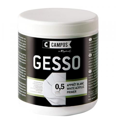 GESSO ACRILICO CAMPUS 500ML