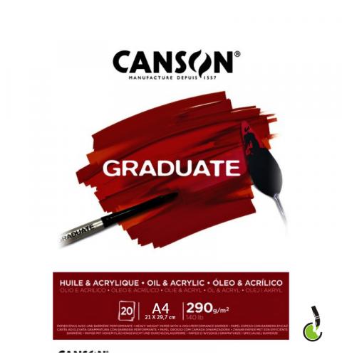BLOCCO CANSON GRADUATE A4...