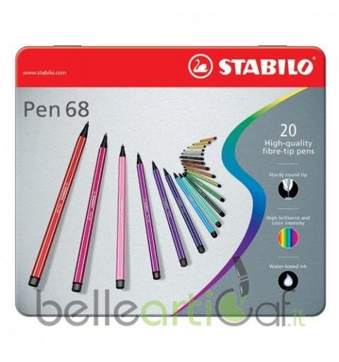 STABILO PEN 68 - BOX...