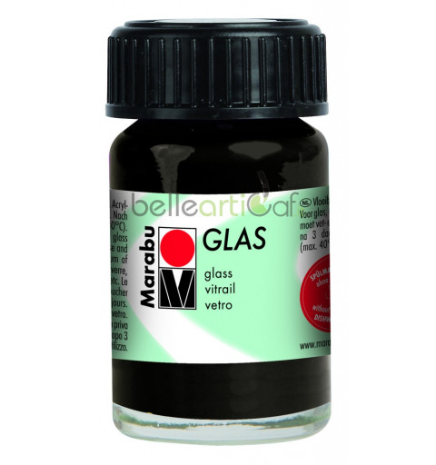 MARABU GLAS 15ML – BLACK 073