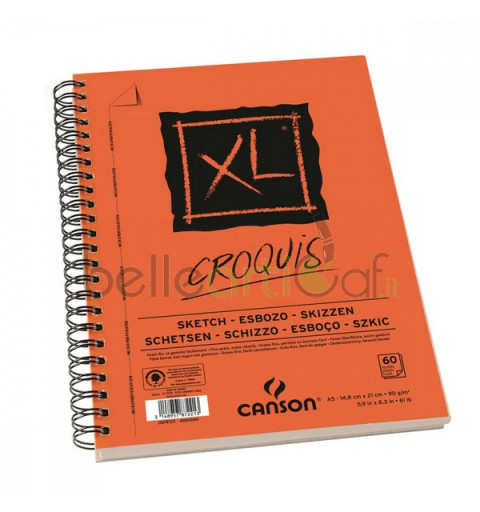 BLOCCO CROQUIS XL A5...