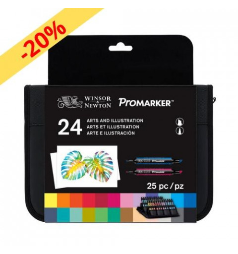 PROMARKER W&N - 24 ARTS AND...