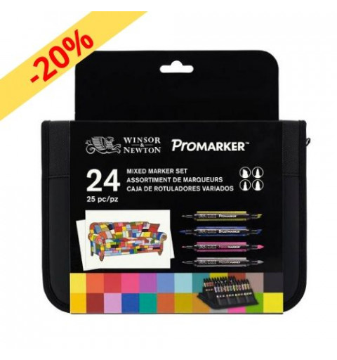 PROMARKER W&N - 24 MIXED...