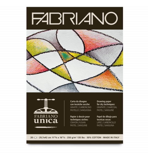 BLOCCO FABRIANO UNICA A3 20FF
