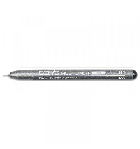COPIC MULTI LINER BLACK 01