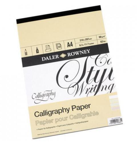 BLOCCO CALLIGRAPHY A4 30FF...