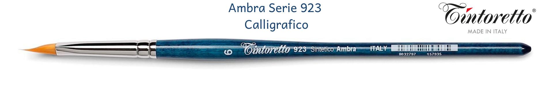 Tintoretto Ambra 923 Calligrafico