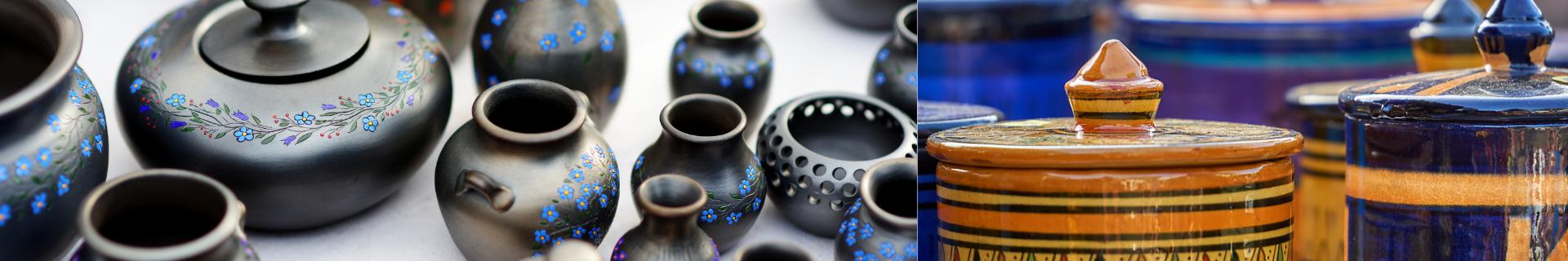 Ceramica in polvere