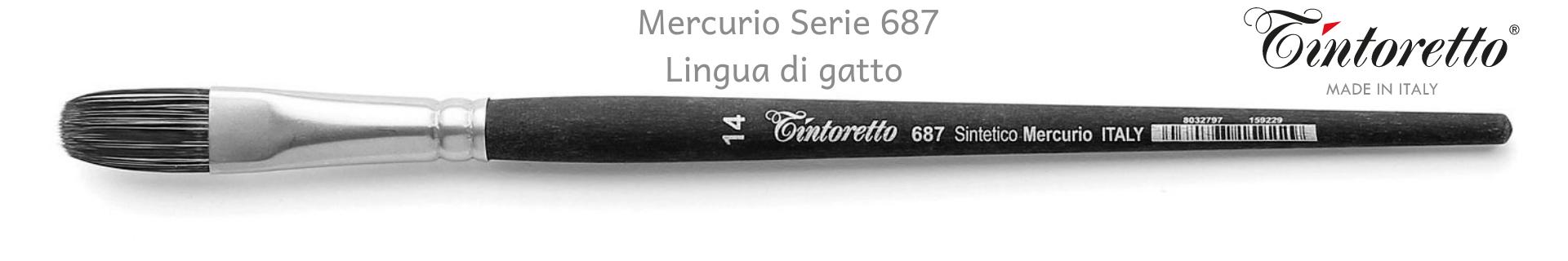 Tintoretto Mercurio 687 Lingua di Gatto