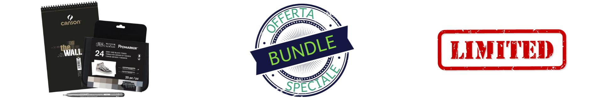 Bundle per fare grafica e illustrazioni