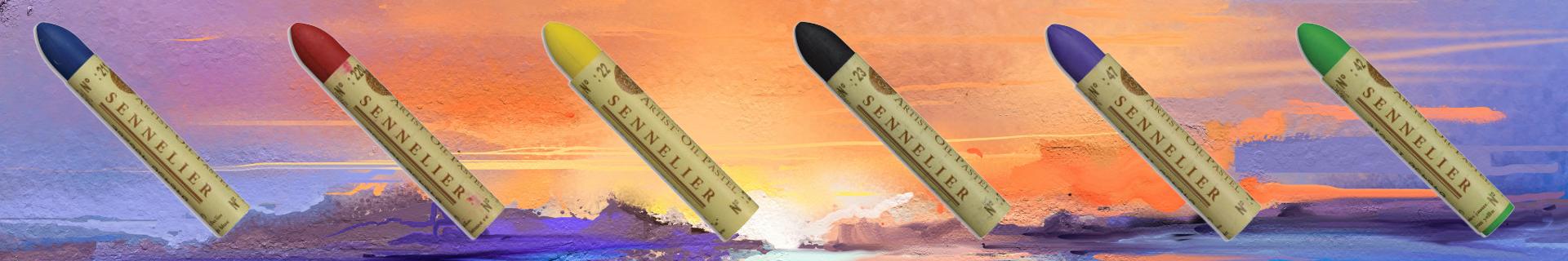 Pastelli ad olio Sennelier