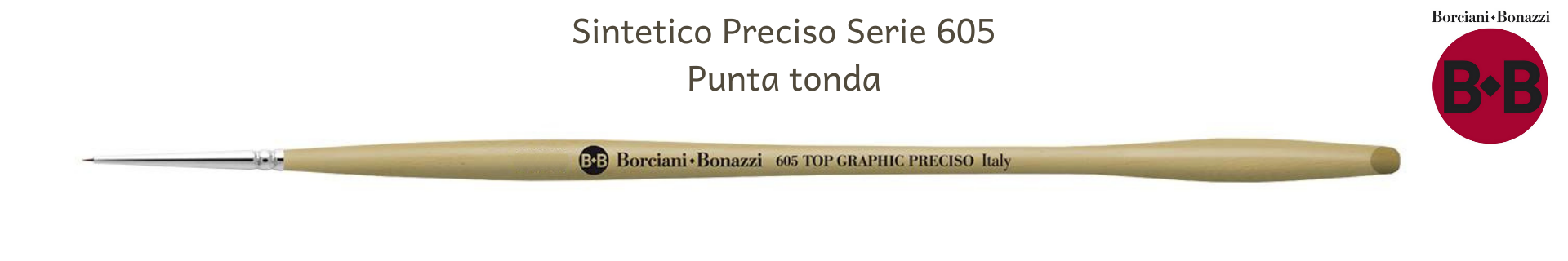Borciani e Bonazzi Top Graphics PRECISO 605 Tondi