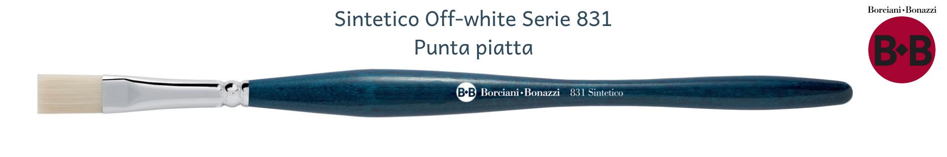 Borciani e Bonazzi UNICO Off-White 831 Piatti