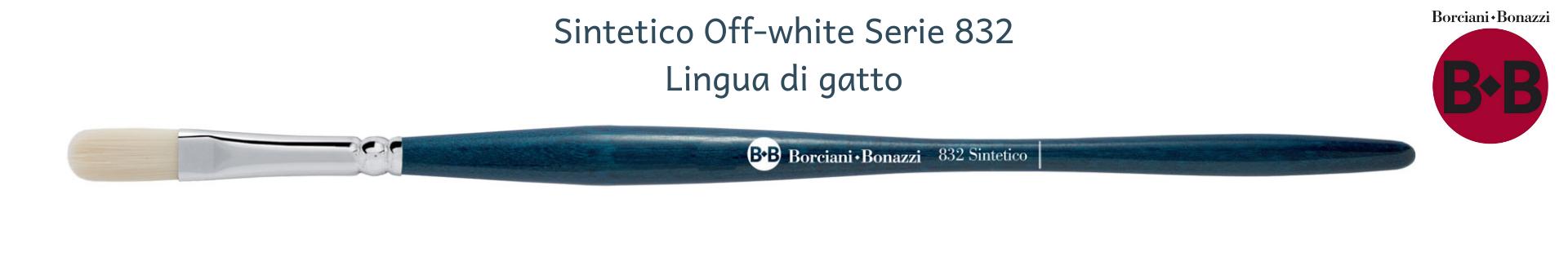 Borciani e Bonazzi UNICO Off-White 832 Lingua di gatto