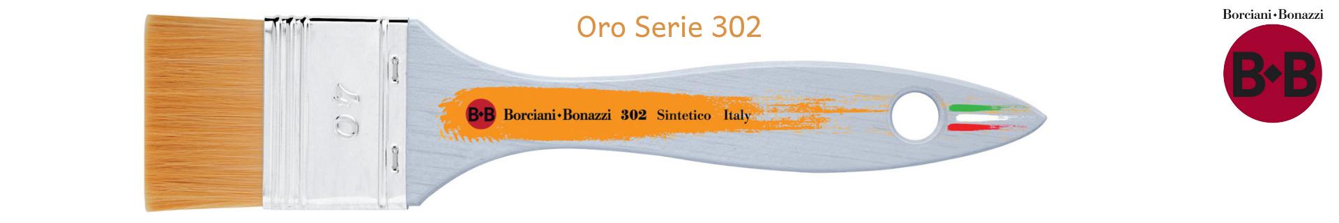 Borciani e Bonazzi Pennellessa Oro 302